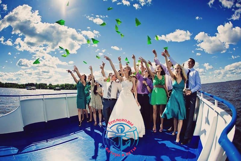 Свадьба на теплоходе в СПб